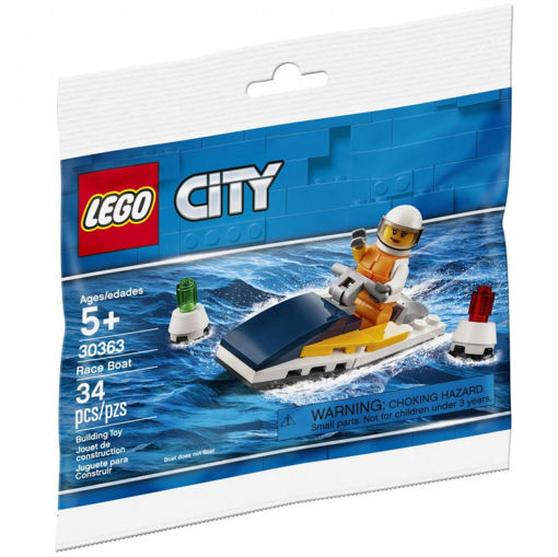 Picture of Brick Based Lego City-Race Boat
