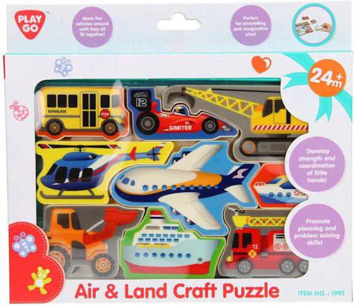 Picture of Air & Land Craft Puzzle