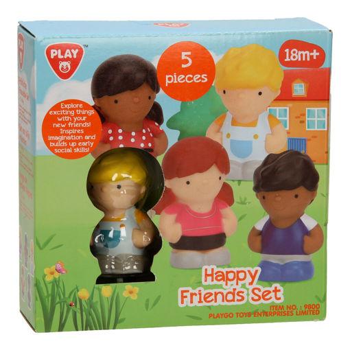 Picture of Happy Friends Set - 5 Pcs