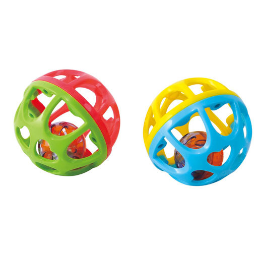 Picture of Bounce N Roll Ball - 2 Assorted - 12 Pcs In A Display