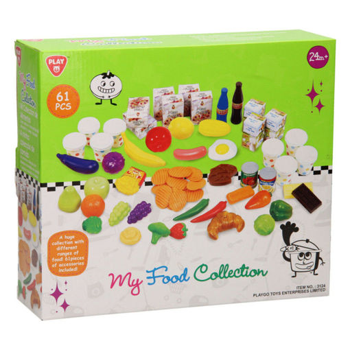 Picture of Soft Playfood - 61 Pcs