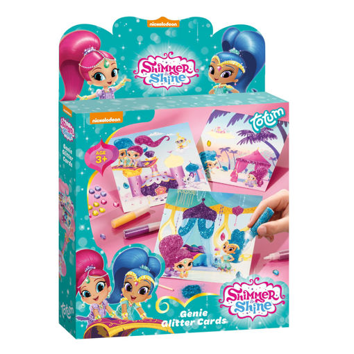 Picture of Shimmer & Shine Glittercards