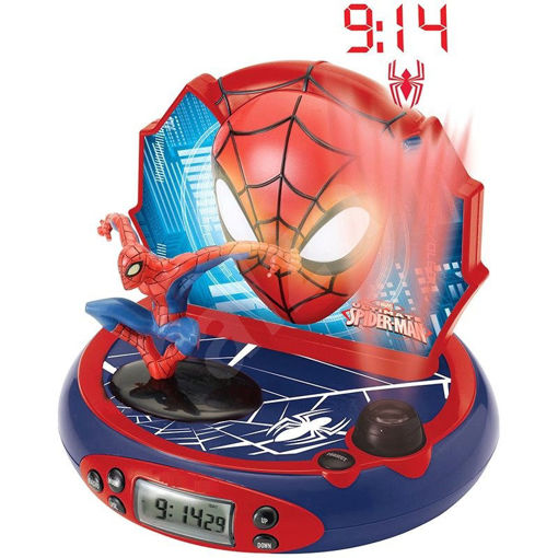 Picture of Spider-Man Projector Clock With Sounds