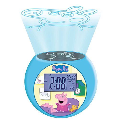 Picture of Peppa Pig Projector Alarm Clock