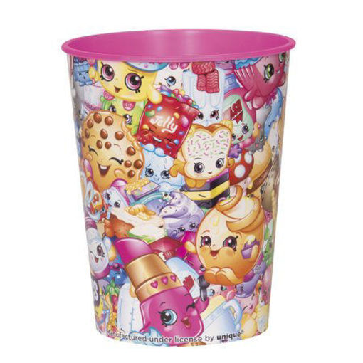 Picture of Shopkins Collection 16 Oz. Plastic Cup