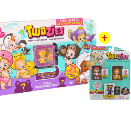 Picture of Twozies S1 Mega Friendship With Bundle