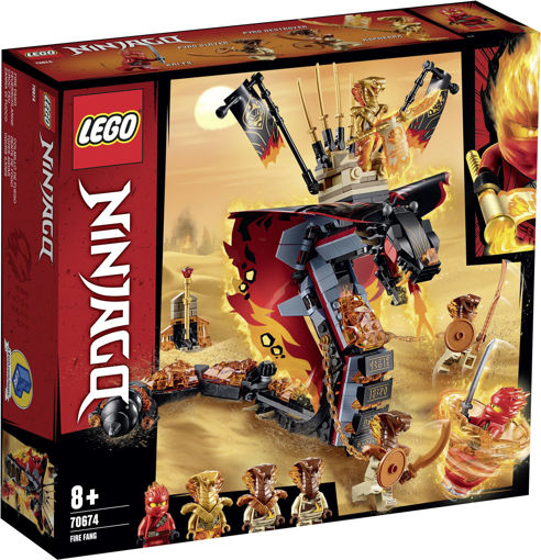 Picture of Lego Ninjago Fire Fang