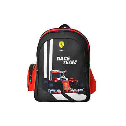 Picture of Ferrari Classic Red Backpack 18Inch Backpack
