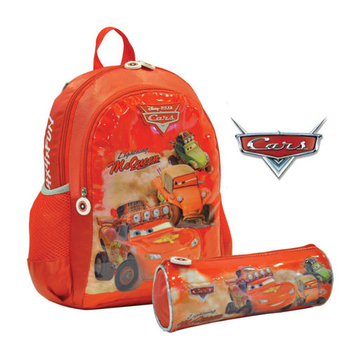 Picture of Cars Radiator Set Of 2Pcs Backpack/Round Pencil