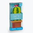 Picture of Mustard -Cactus Shaped Sticky Notes