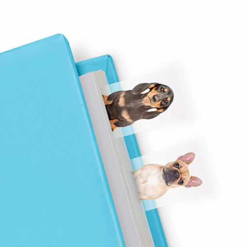 Picture of Mustard -Dog Shaped Page Markers