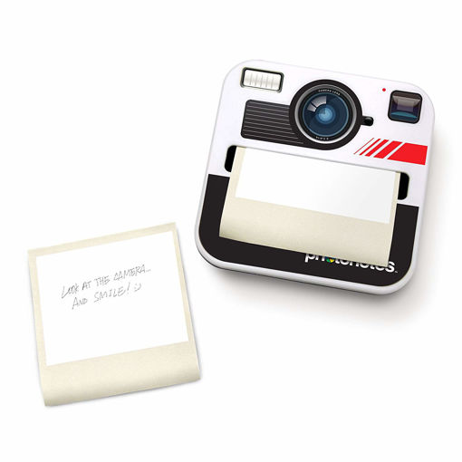Picture of Mustard - Camera Shaped Sticky Notes