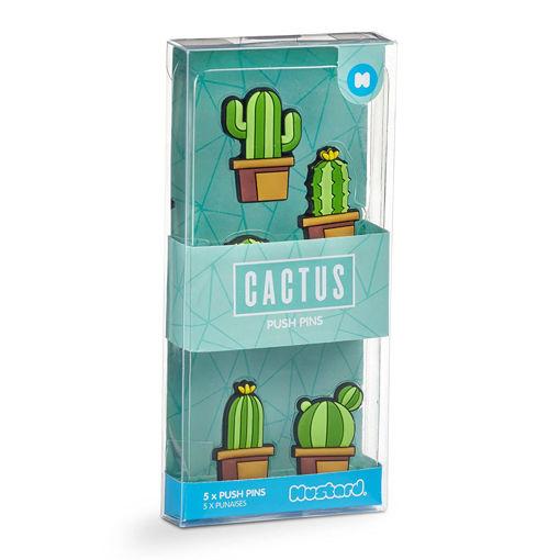 Picture of Mustard -Cactus Push Pins