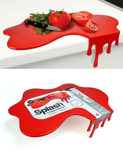 Picture of Mustard- Splash Style Chopping Board
