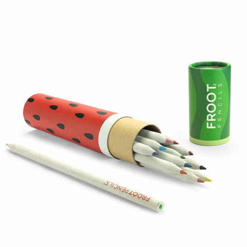 Picture of Mustard -Watermelon Scented Pencils