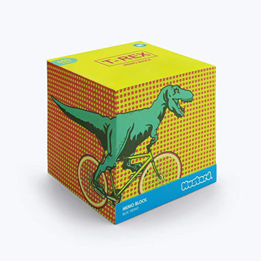 Picture of Mustard -T-REX Square Memo Block