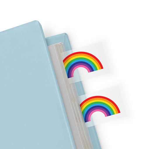 Picture of Mustard -Rainbow Shaped Page Marker