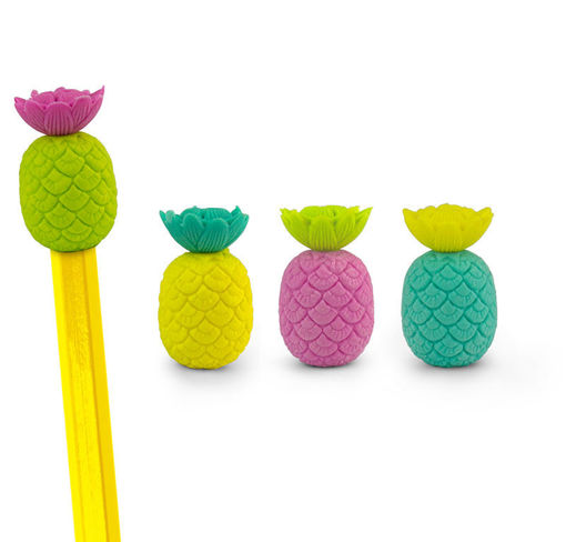 Picture of Mustard -Pineapple Eraser Pencil Toppers