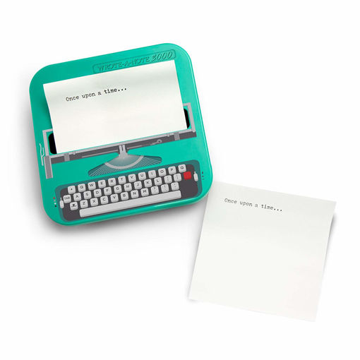 Picture of Mustard -Typewriter Shaped Sticky Notes