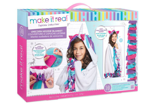 Picture of Make it Real - Unicorn Hoodie Blanket