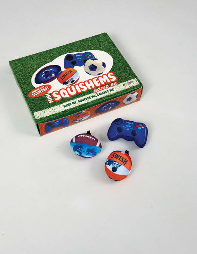Picture of Game On Scented Mini Squishems Set