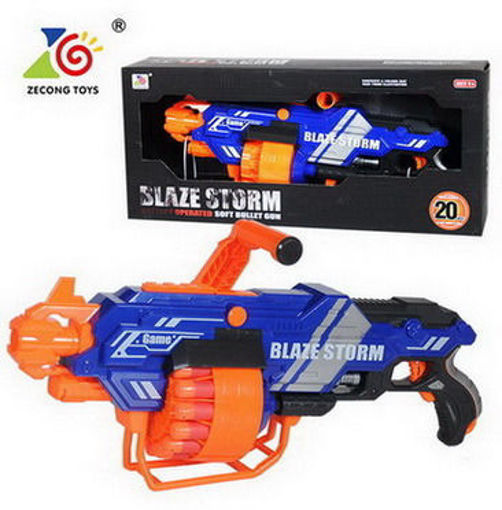 Picture of Battery Operated Soft Dart Gun With 20Pcs Soft Das