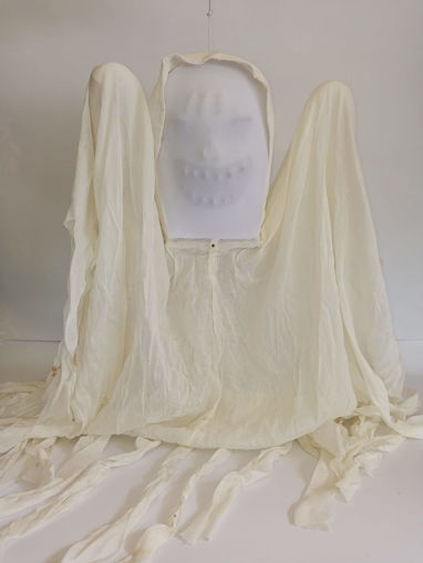 Picture of Hanging White Ghost