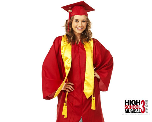 Picture of High School Musical Graduation Costume