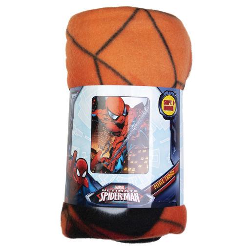 Picture of Disney Spiderman 40 x 50 '' Fleece Throw Blanket
